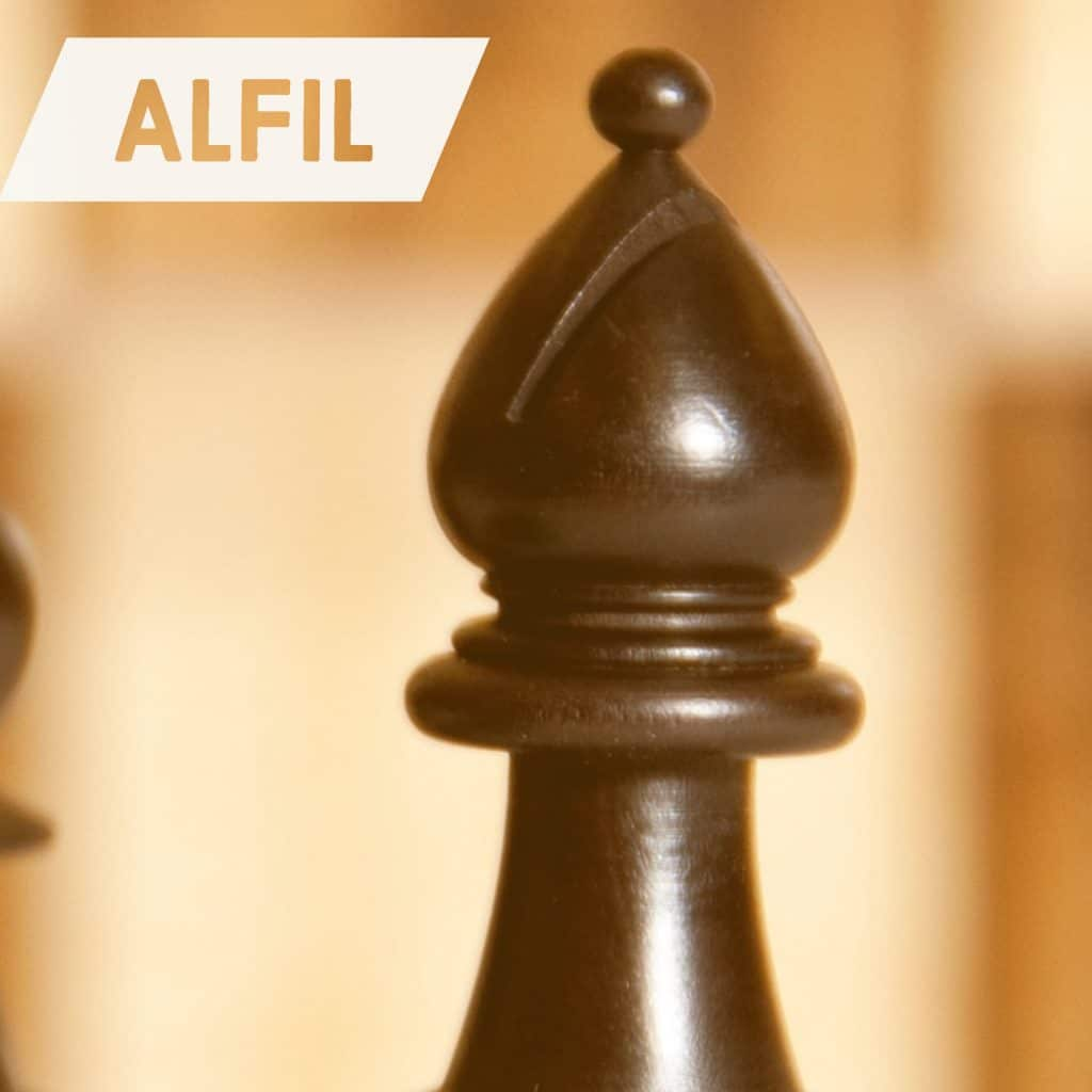 Alfil Ajedrez Movimientos Valor