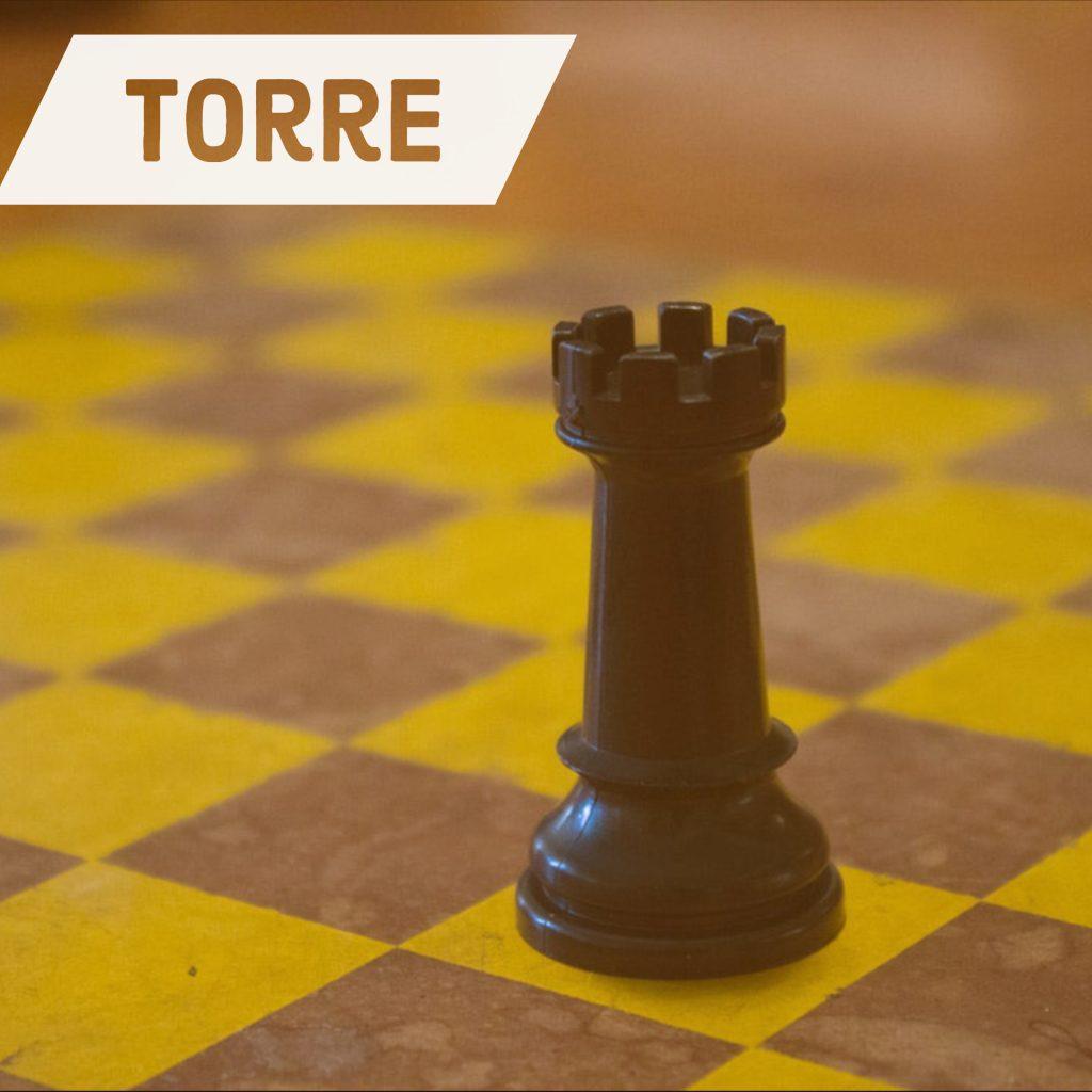 Torre Ajedrez Movimientos Valor