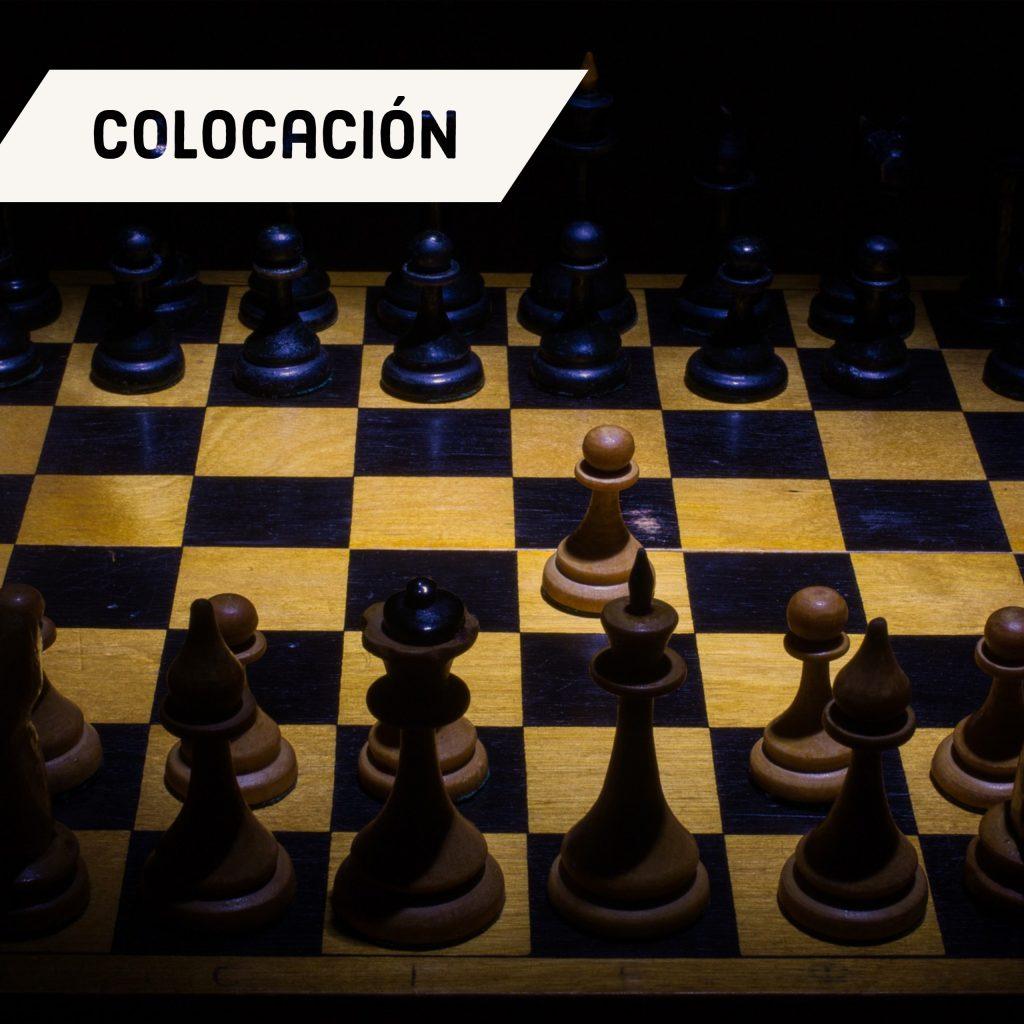 colocacion piezas tablero ajedrez