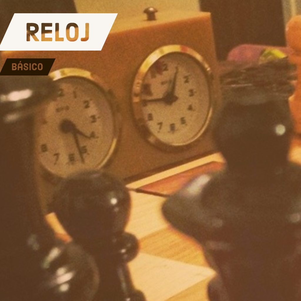 reloj ajedrez