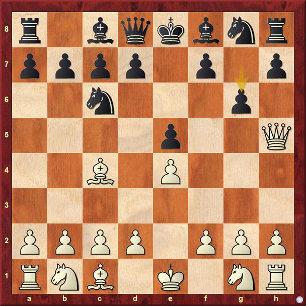 Defensa con Caballo c6 y g6