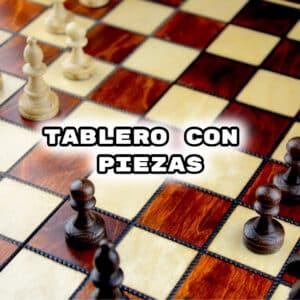 Comprar Ajedrez Completo Tablero + Piezas
